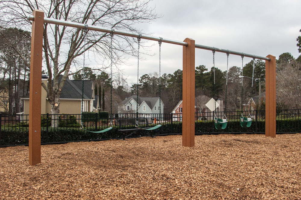 swing set image by Green Play Parks