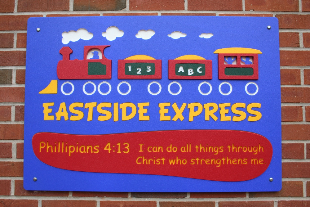 Eastside Express playground sign image