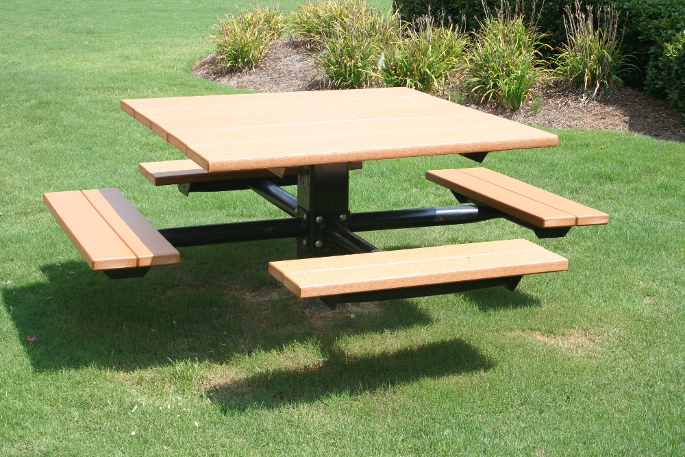 four seat picnic table image