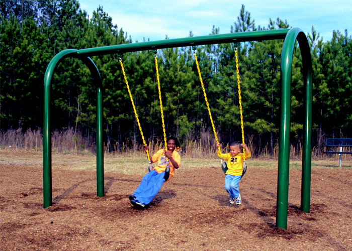 Swing Set Green Play Parks Current Events