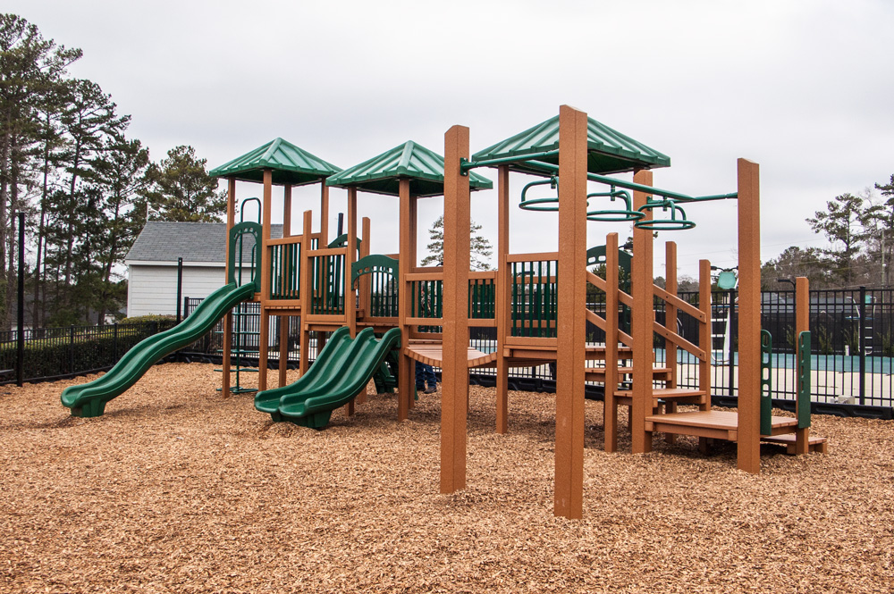Green Play Parks play set image